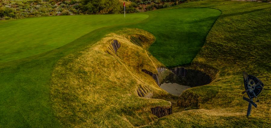 The Mine Shaft Bunker: Arizona's Toughest Sand Trap | Scottsdale National Golf Club