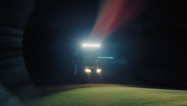 Night Golfing with Golf Cart in Scottsdale | Scottsdale National Golf Club